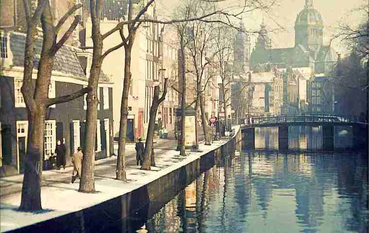 Amsterdam Red Light District During Second World War