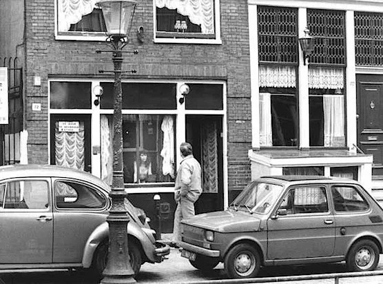 Amsterdam's Red Light District History. April 3th 1984