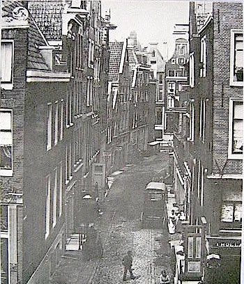 history of red light district amsterdam - The Blood Street (Bloedstraat) in 1890