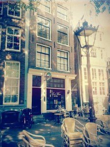 Cafe Aen 'T Water in Amsterdam's Red Light District