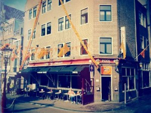 Cafe Emmelot in Amsterdam's Red Light District