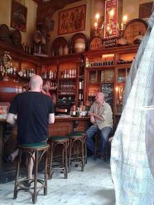 Amsterdam's Cafe In 't Aepjen in the Red Light District