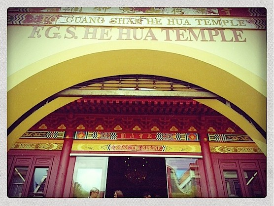Chinese Temple Amsterdam entrance