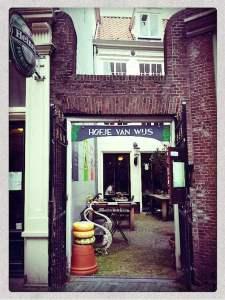 Hofje van Wijs, the best coffeeshop in Amsterdam