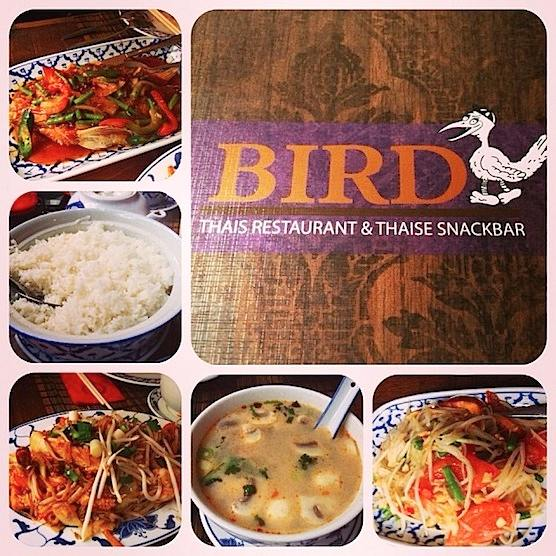 Best Thai Restaurant Bird in Amsterdam