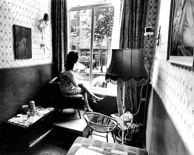 Amsterdam Window Prostitute 1960's