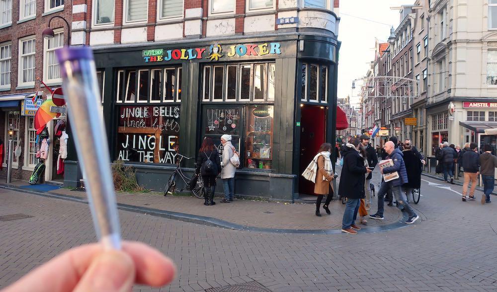 Coffeeshop The Jolly Joker Amsterdam