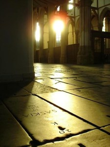 Inside of Amsterdam's Old Church