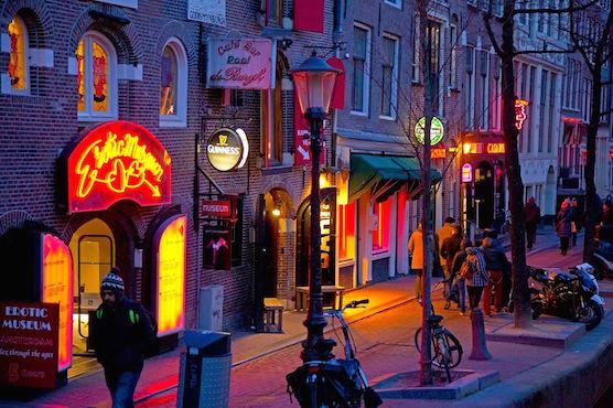 Amsterdam tour erotic think, that