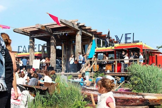 10 tips for hot summer days in Amsterdam. Amsterdam's Eco Hangout De Ceuvel