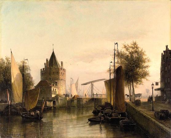 Amsterdam Scheierstoren Christiaan Dommersen