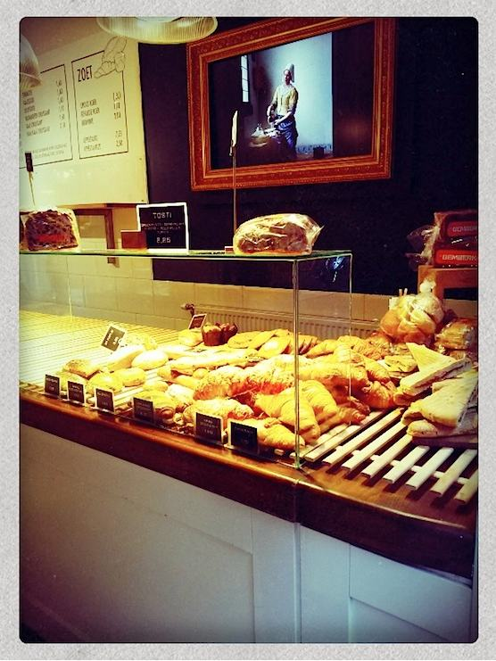 BBrood Bakery in Amsterdam's Red Light District.