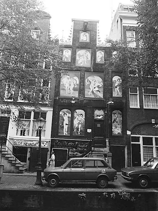 Amsterdam, Red Light District, The Bananenbar. Year 1978