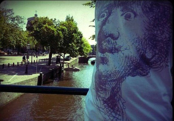 Pictures of rembrandt van rijn in Amsterdam