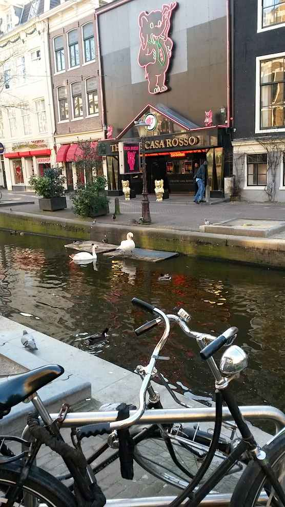 Erotic Theatre Casa Rosso in Amsterdam's Red Light District