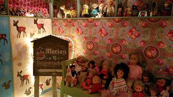 Maria's Dolls Museum in the Red Light District.