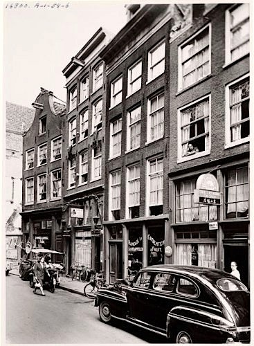 Amsterdam, Red Light District, Zeedijk 67, Patta Store. Year unknown