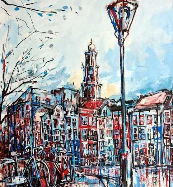 Amsterdam Postcards. Unique souvenir!