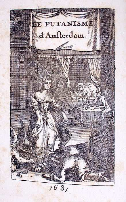 History of Prostitution - Book cover Le Putanisme D'Amsterdam