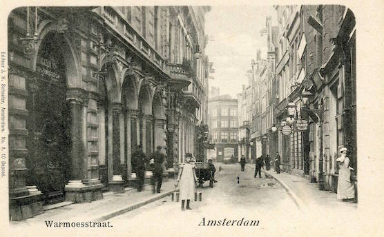 History of Prostitution in Amsterdam - Warmoesstraat Red Light District