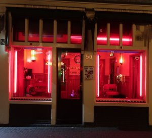 safety measures for prostitutes Amsterdam Red Light District window brothels