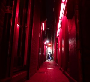 safety measures for prostitutes Amsterdam Red Light District