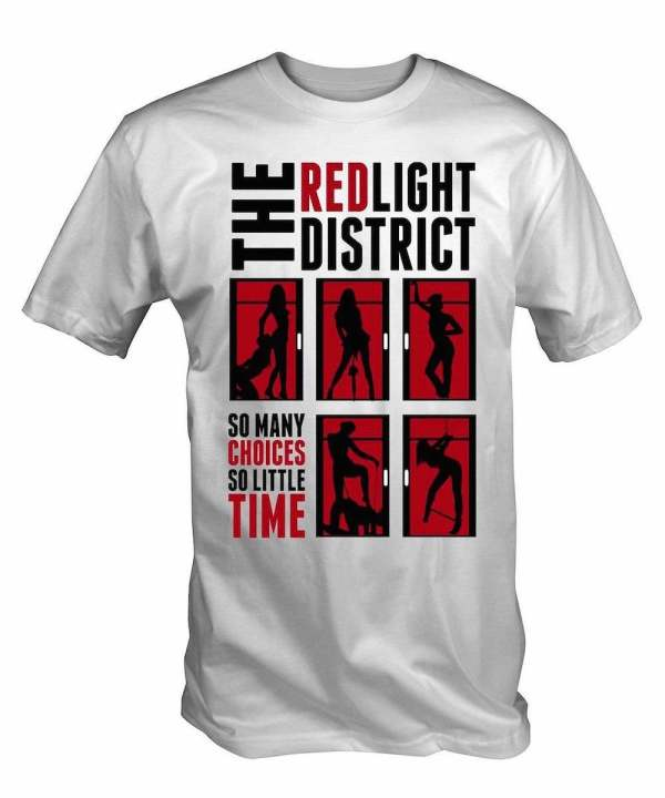 Red Light District T-Shirt White