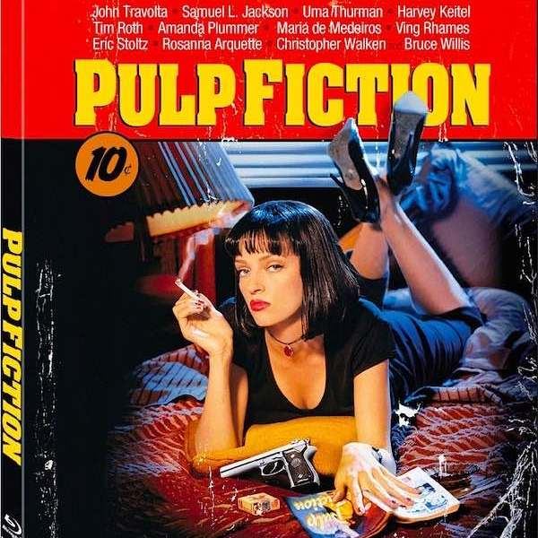 Pulp Fiction DVD BluRay BUY - Written by Quentin Tarantino in Amsterdam