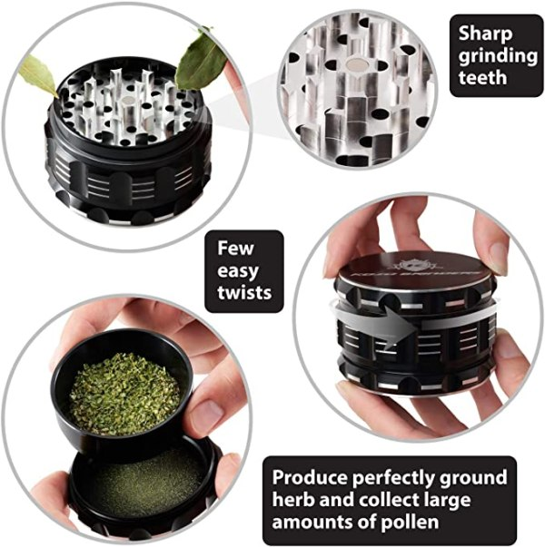 Herb Grinder - Best Rated Cannabis Grinder