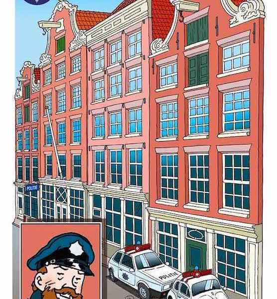 Police Precinct Red Light District Amsterdam