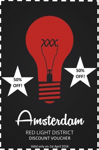 Amsterdam Red Light District Discount Voucher