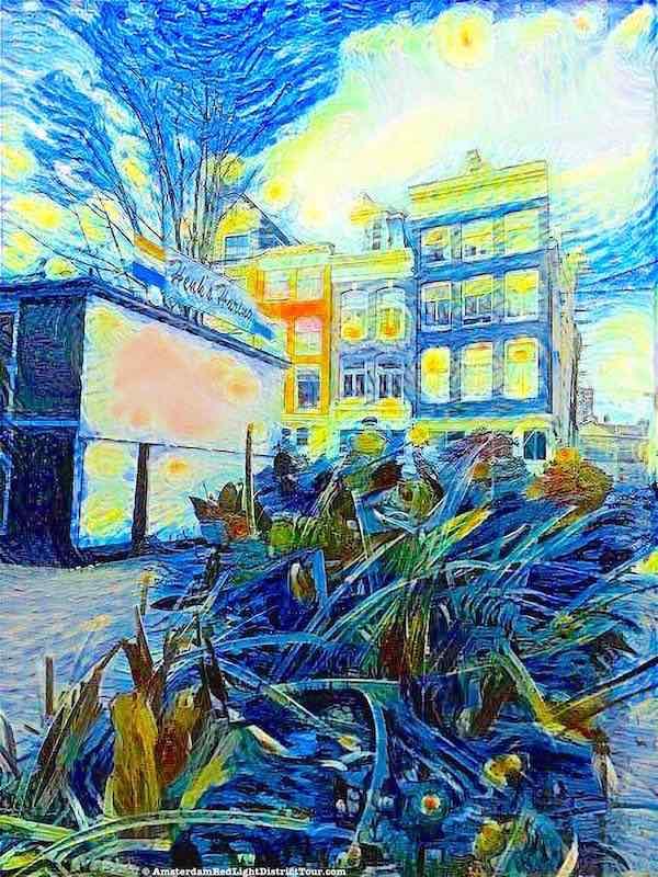 Amsterdam Damstraat Vincent van Gogh