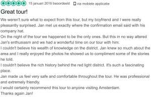 Amsterdam Red Light District Tour Reviews