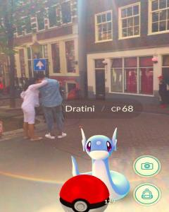 Amsterdam Red Light District Pokemon Pokestops