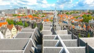 Amsterdam From Above Red Light District