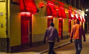 Amsterdam Red Light District Brothels Windows