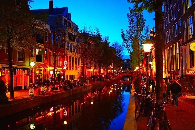 Amsterdam Red Light District Brothels Photo
