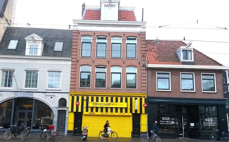 Amsterdam Cannabis Coffee Shop Mellow Yellow