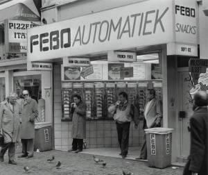 Febo Netherlands Leidsestraat Amsterdam 1987