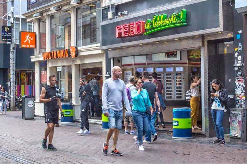 Febo Netherlands Leidsestraat Amsterdam