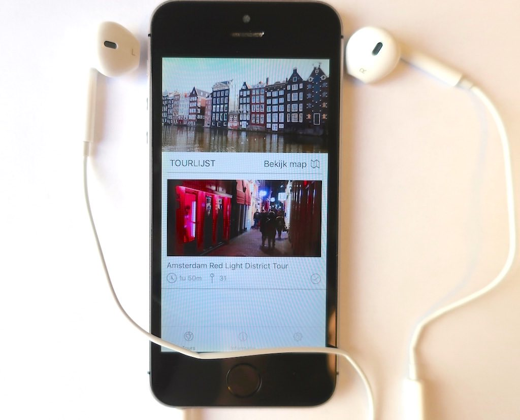 App Amsterdam Audio Tours with Red Light District Tour