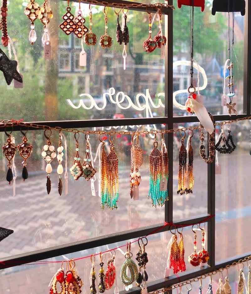 Dutch restaurant in Amsterdam Red Light District Jewelry