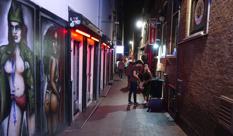 Amsterdam Red Light District Facts Sex Workers