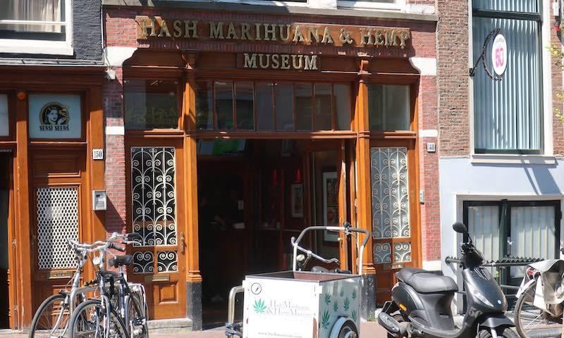 Unusual museums in Amsterdam Hash Marihuana Hemp Museum