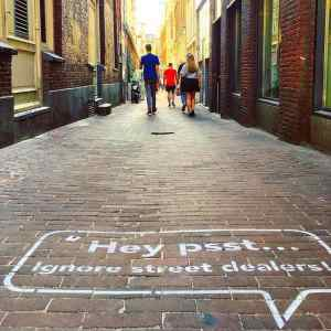 Street Dealers Amsterdam Warning Campaign