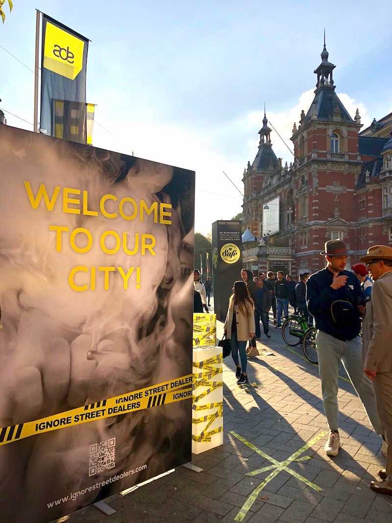 Ignore Street dealers Amsterdam Campaign