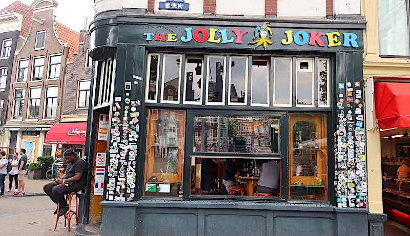 Joints in coffeeshops Jolly Joker