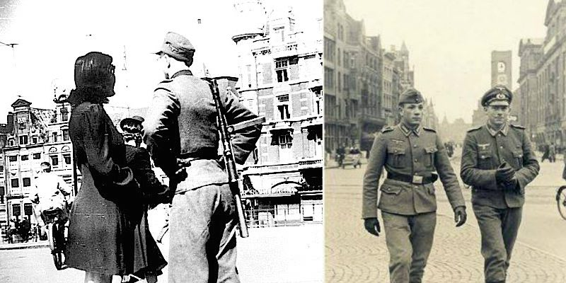history behind red light district second world war