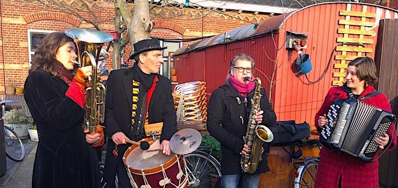 Amsterdam Christmas markets Funky Xmas market