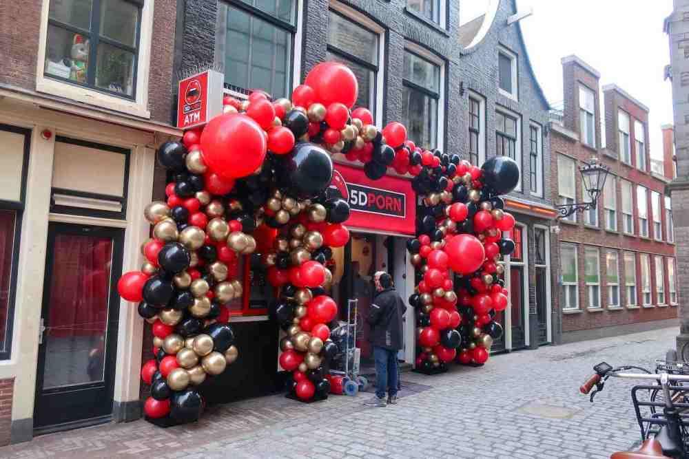 5D Porn Cinema Amsterdam Red Light District
